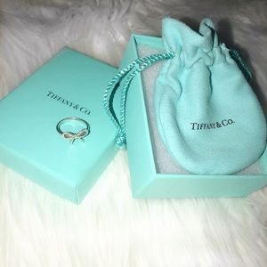 Tiffany Bow Ring sterling silver
